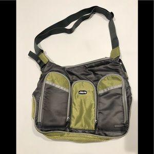 🌴 Chico baby shoulder bag gray green